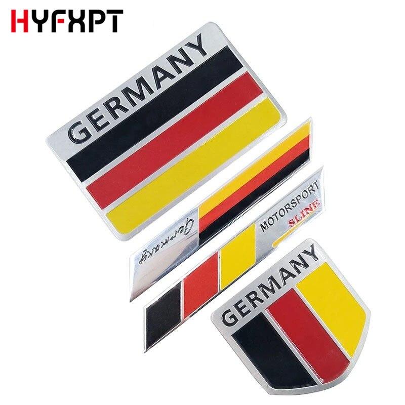 Map Of Germany 3d.Aluminium Alloy 3d Car Sticker Germany Map Emblem National Flags