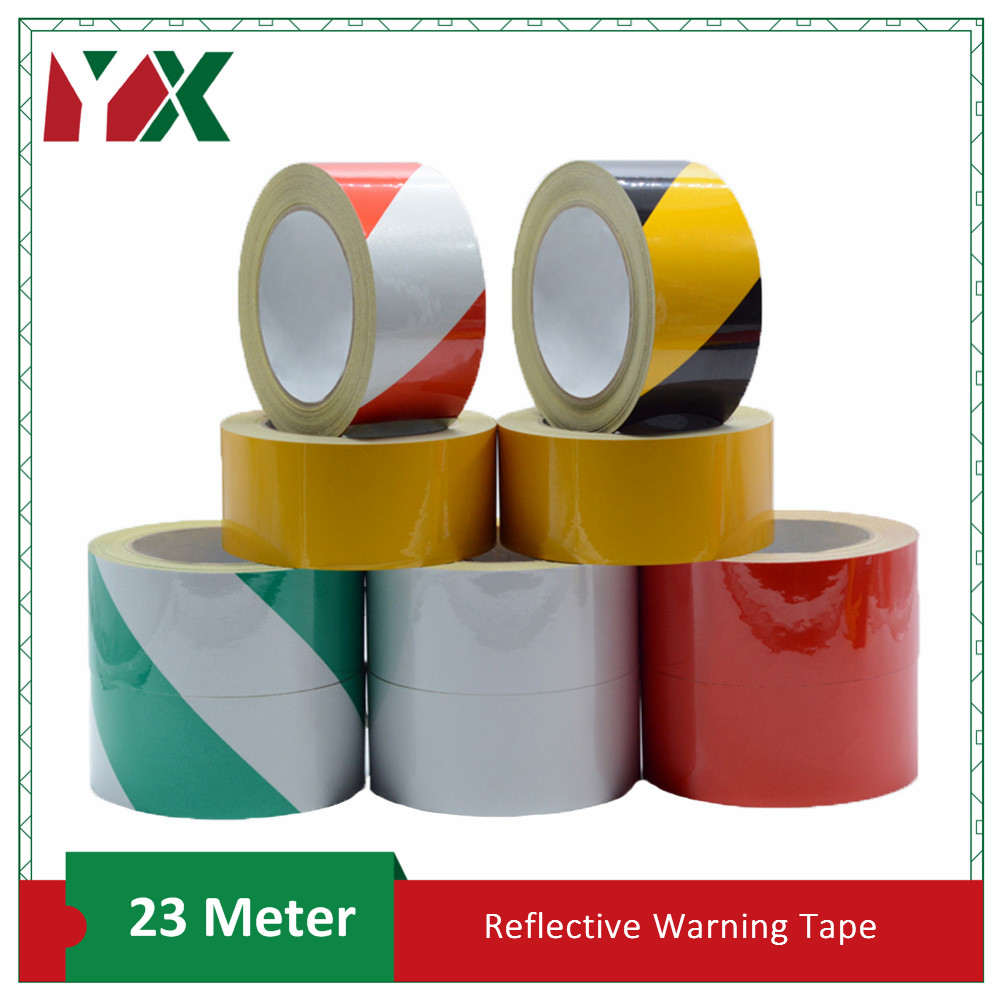 YX Luminous Warning adhesive tape Glow in the dark Safety Mark Reflective tape stickers Automobiles Motorcycle Reflective Film