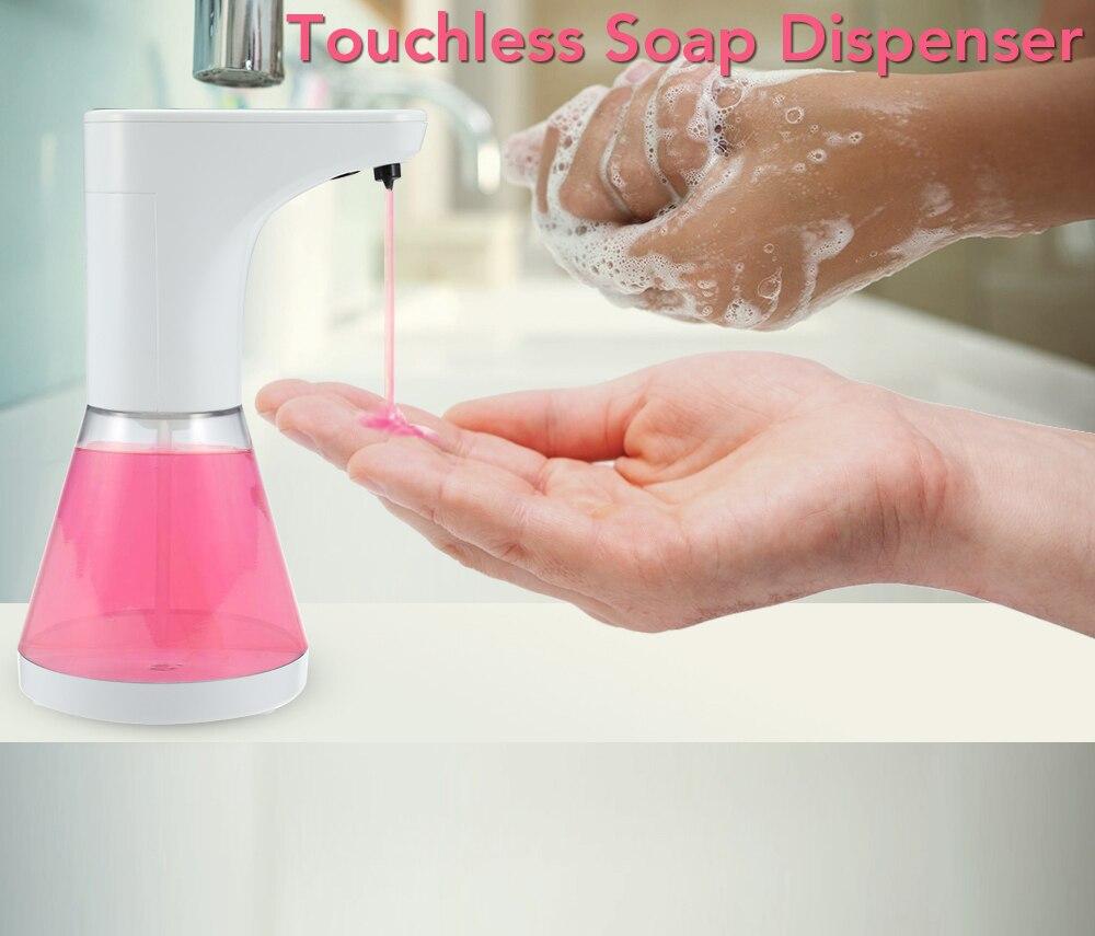 HTB1mebNdWSs3KVjSZPiq6AsiVXak 480ml Automatic Touchless Soap Dispenser Shower Gel, Shampoo, Washing Lotion, Liquid Soaps Sanitizer ABS Liquid Dispenser