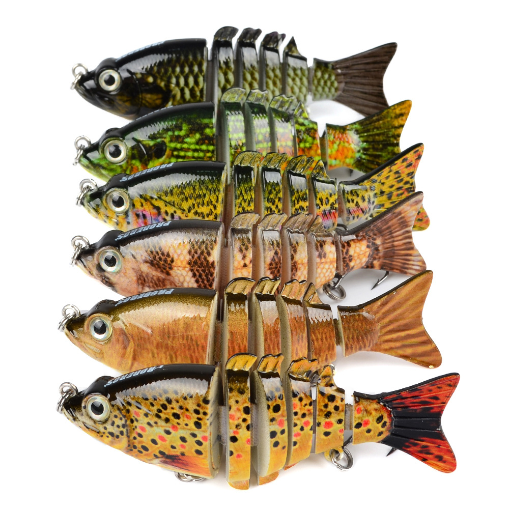 PROBEROS Multi-section Fishing Lures Wobblers Swimbait Crankbaits Hard Artificial Baits Fishing Tackle With Hooks Isca Pesca 30pcs set fishing lures kits anti beat metal fishing lure colorful crankbaits tackle de pesca hard spoon baits fake baits