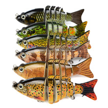 PROBEROS Multi-section Fishing Lures Wobblers Swimbait Crankbaits Hard Artificial Baits Fishing Tackle With Hooks Isca Pesca