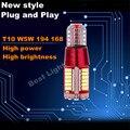 1 xplug & play t10 w5w samsung led frente luz de estacionamento lâmpada para Infiniti EX35 EX37 FX37 FX35 FX45 FX50 G20 G25 G37 I30 I35 J30
