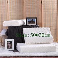 4 SIZES Bamboo Pillow Slow Rebound Memory Foam Pillow Health Care Memory Foam Pillow Bamboo Fiber