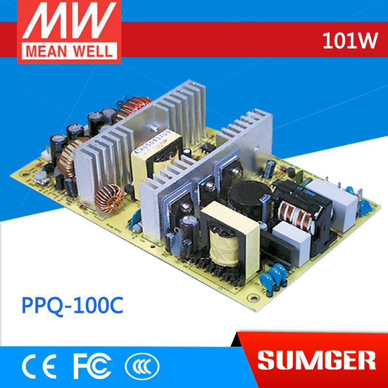все цены на  3MEAN WELL original PPQ-100C meanwell PPQ-100 101W Quad Output Switching Power Supply  онлайн