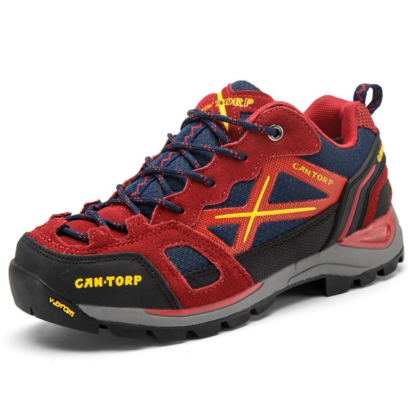 GOMNEAR 2019 hommes femmes baskets respirant randonnée chaussures été montagne extérieur chaussures escalade tourisme chasse chaussures sport homme