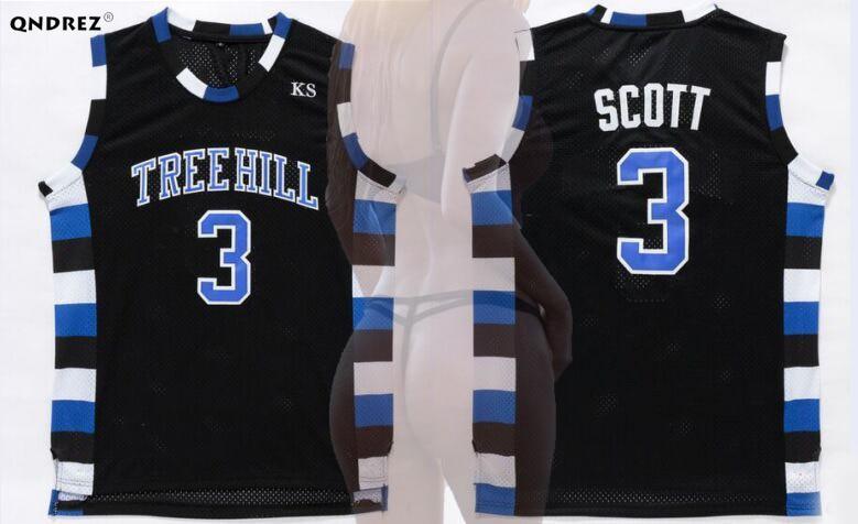 Nathan Scott #23 One Tree Hill Ravens Basketball White Jersey