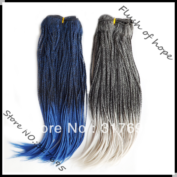 Free Shipping Premium Micro Braid Weft Braid Hair Weaving Weft
