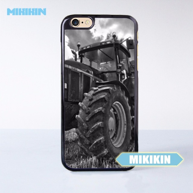 online retailer f6588 d5b0b US $5.99 |MIKIKIN Vintage John Deere Car Cell Phone Protective Case For  iPhone X 8 8+ 7 7+ 6 6S Plus SE 5 5S 5C 4 4S -in Half-wrapped Case from ...