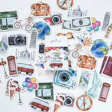Hot Koop 45 Stks/doos Trave Alone Notebook Dagboek Tekening Schilderen Graffiti Soft Cover Papier Memo Pad Kantoor Schoolbenodigdheden Gift(China)
