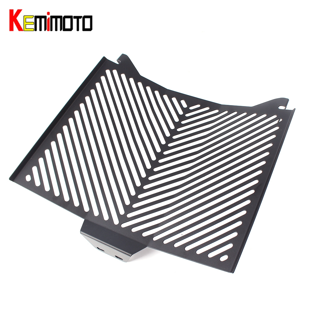 KEMiMOTO for KTM 1290 super duke Radiator Guard Grille Protection 2013-2017 Radiator Protector Motorcycle Parts Accessories 2014 motorcycle front rider seat leather cover for ktm 125 200 390 duke