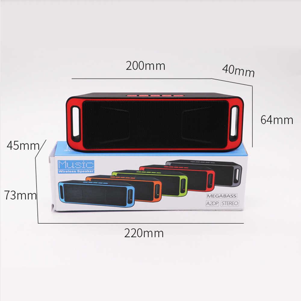 SC208 bezprzewodowy głośnik Bluetooth komputer Mini podwójny głośnik przenośny mały subwoofer samochodowy Stereo wsparcie Bluetooth gorąca sprzedaży