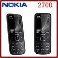 Оригинальный Nokia 2700C 2700 Classic Разблокирована GSM 2-МЕГАПИКСЕЛЬНАЯ FM Mp3-плеер Восстановленное Дешевый Мобильный Телефон Бесплатная Доставка