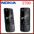 Original Nokia 2700C 2700 Classic Unlocked GSM 2MP FM Mp3 Player Refurbished Cheap Mobile Phone Free Shipping