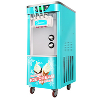 Commercial Ice Cream Machine Soft Ice Cream Machine 2200W Drum Machine Automatic Ice Cream Machine 5.8L BJT918SE 110V/220V