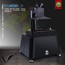 high precision original dlp sla lcd 3d printer with raspberry pi3 wifi uv casting wax resin for dental and jewlry fast ship