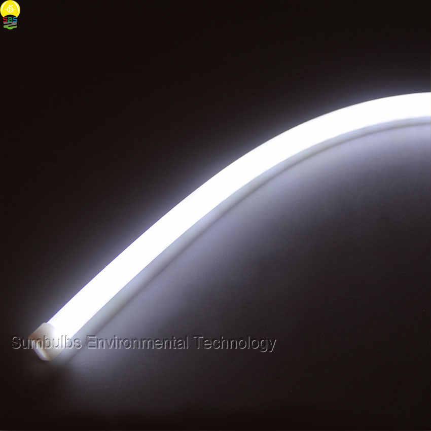 2 шт./лот Автомобильные фары дневного света 12 v 30 см x 45 см 60 см 85 см суперяркость Гибкая мягкая трубка светодиодный панель DRL светодиодные полосы света