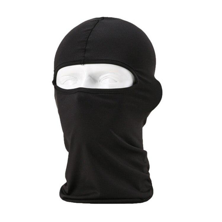 2019 New Motorcycle Face Mask Lycra Moto Balaclava Biker Face Shield Ski Mask Stopper Windproof Motorcycle Mask