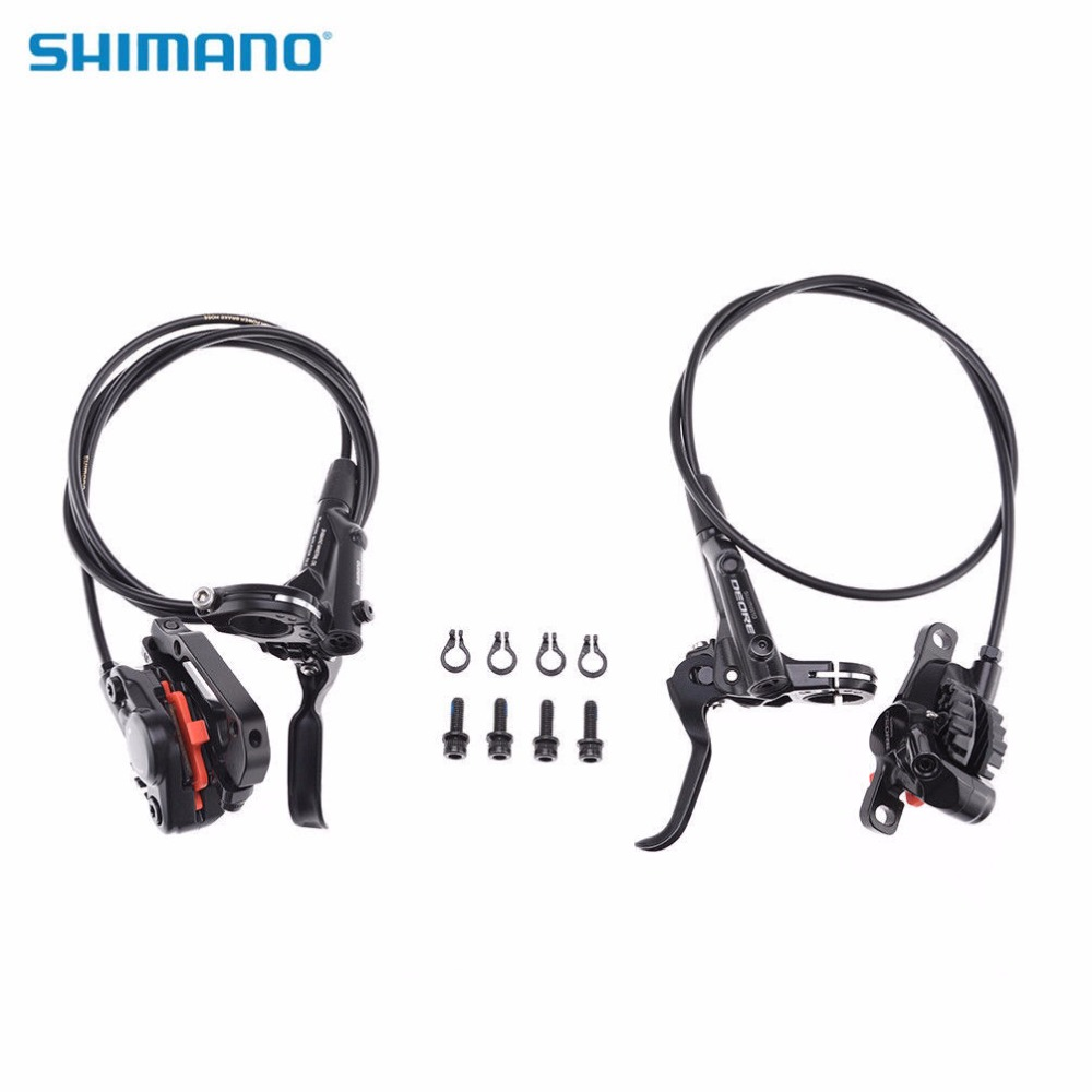 SHIMANO Deore M6000 Bicycle Hydraulic Disc Brake Set Front & Rear Calipers MTB Bike Parts Black shimano slx bl m7000 m675 hydraulic disc brake lever left right brake caliper mtb bicycle parts