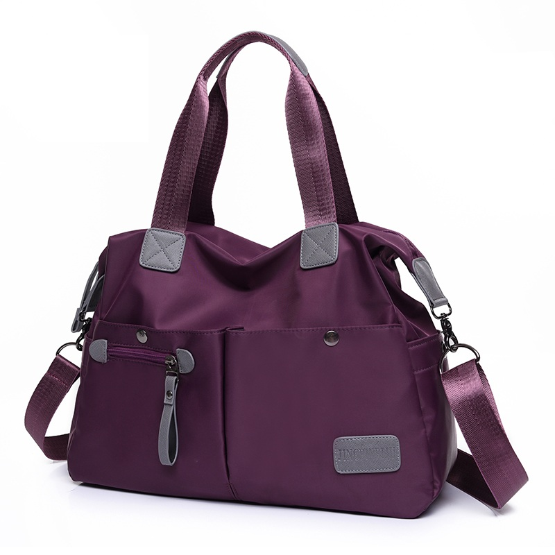 ФОТО Spring summer women handbag canvas women's travel bag nylon oxford fabric canvas bag one shoulder handbag cross-body bags large
