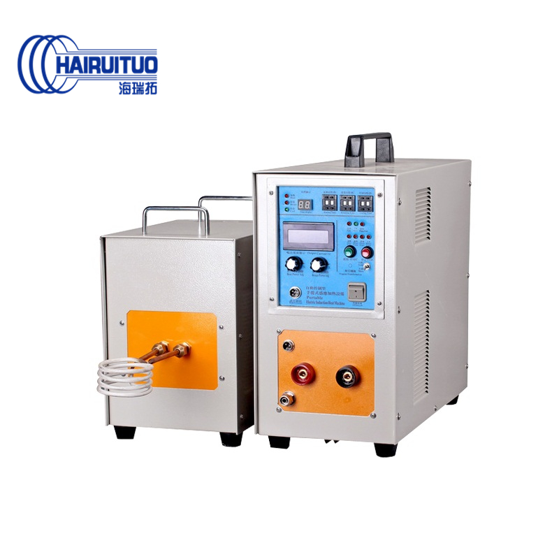 High frequency induction heating machine 20kw metal melting furnace