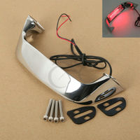 Chrome ABS Trunk Handle Light LED For Honda Goldwing GL 1800 01 16 12 13 14