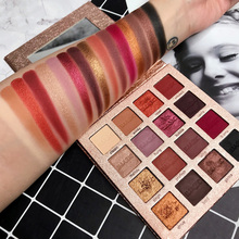 IMAGIC 16 Colors Nocturne Eyeshadow Palette Makeup Eye Shadow Pallete Matte Shimmer Glitter Pigmented Smoky Natural Eyes Make Up все цены