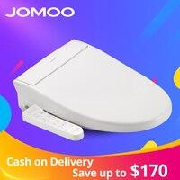 JOMOO Смарт сиденье для туалета умывальник удлиненный Электрический биде крышка тепло сидит светодиодный свет интегрированный детский траин