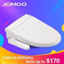 JOMOO Smart Toilet Seat Washlet Elongate Electric Bidet Cover Heat Sits LED Light Integrated Children Baby Traing Chair AirFresh(China)