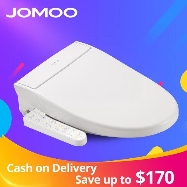JOMOO Smart Toilet Seat Washlet Elongate Electric Bidet Cover Heat Sits LED Light Integrated Children Baby Traing Chair AirFresh
