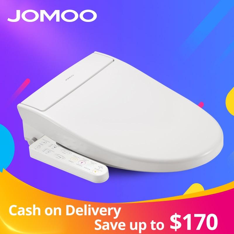 JOMOO siège de toilette intelligent Washlet allongé électrique Bidet couverture de chaleur se trouve lumière LED intégré enfants bébé Traing chaise AirFresh