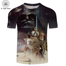 2019 T shirt Homme Camisetas Hombre Novelty Star Wars A New Hope Robot Men T-Shirts Tshirts 3D Print Male Funny Tees S-6XL