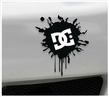 Aliauto Car Accessories Ken Block DC Ink Logo Car Sticker And Decal for Toyota Ford Chevrolet