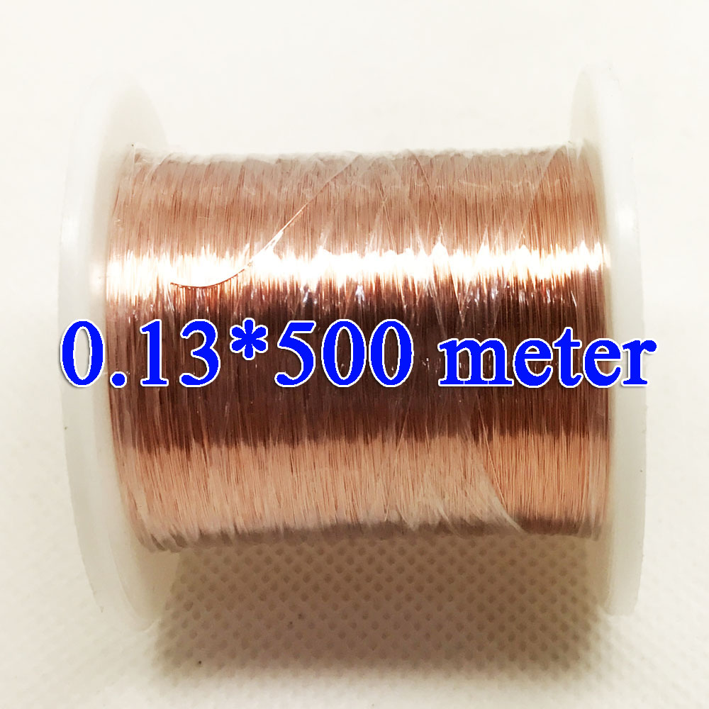 0.13mm *500m / pcs QA-1-155 Polyurethane enameled Wire Copper Wire enameled купить в Москве 2019