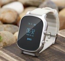 OLED GPS Tracker Uhr Für Kinder Kind GPS Armband Google Map Sos taste GPS Smartwatch GSM WIFI AGPS £ metall Q50 Q80 Q90 Q60