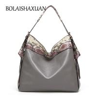 Fashion Serpentine Bag Women Shoulder Bag Messenger Ladies Tote Hand Bag Famous Brand Leather Crossbody Bags