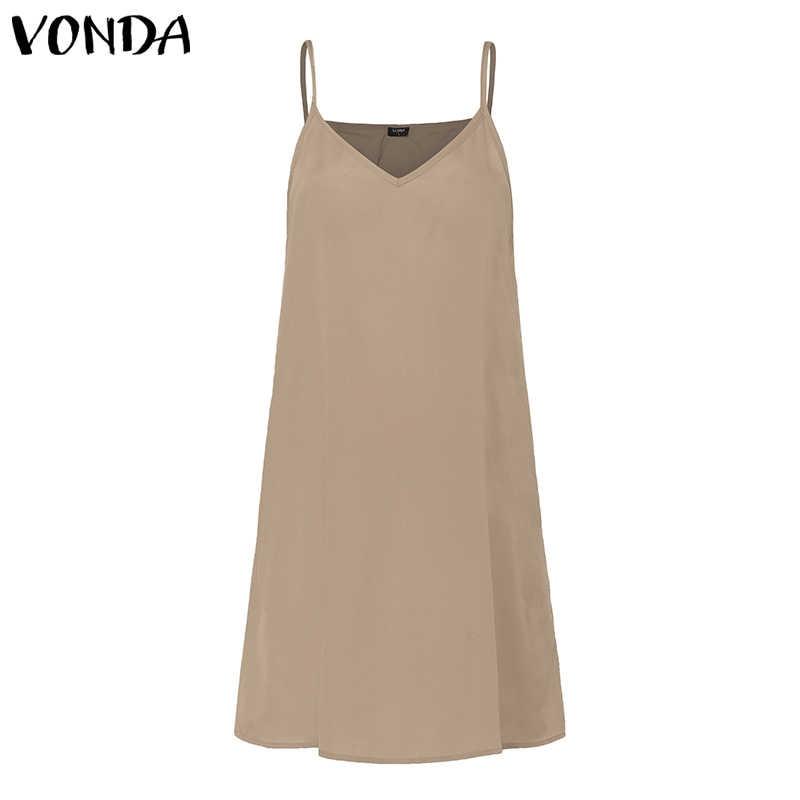 VONDA богемное женское Макси платье 2019 летнее сексуальное пляжное платье с v-образным вырезом прозрачное повседневное свободное винтажное многослойное платье плюс размер