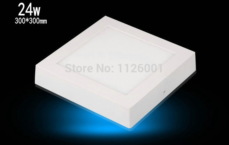 ФОТО 2015 Painel Led Hot Sell 1 Pcs Lot Dimmable 0 100 % Square Surface Mounted Down Lights Advantage Products High Quality