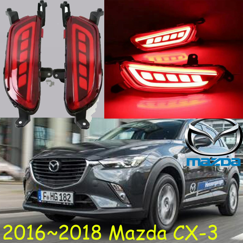 2017 2018,Mazd CX-3 Rear light,LED,Free ship!CX-3 Taillight,axela,MX-3,MX-5,CX 3,Protege,Miata,Navajo,Tribute,CX-3 daytime light