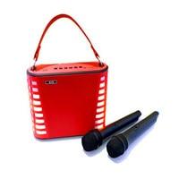 Led Speaker Powerful Boombox Street Speaker 30W Sound Bomb Portable Karaoke System Voice Changer Sound Box Bluetooth Column