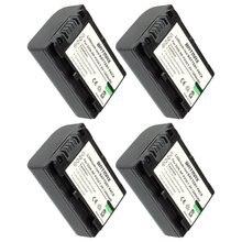 Baterias de Iões Lítio para Sony de NP Fv50 Np-fv50 Câmera 4-pack Hdr-cx150e Cx170 Cx300 D6544 para Sony Npfv50 Acessórios