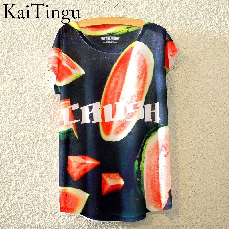HTB1meh7LpXXXXXKXXXXq6xXFXXXs - New Fashion Summer Animal Cat Print Shirt O-Neck Short Sleeve T Shirt