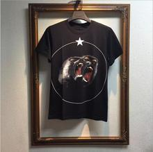 High New Novelty 2017 Men Fashion T Shirts 3D monkey Print T-Shirt Hip Hop Skateboard Street Cotton T-Shirts Tee #80