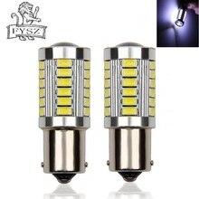 2Pcs BA15S 1156 33SMD 7506 P21W 5630 5730 LED Car Tail Bulb Brake Lights 12V Auto Reverse Lamp Daytime Running Signal Light Z3 цена и фото