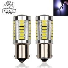 цена на 2Pcs BA15S 1156 LED Car Turn to Bulb Brake Lights 33 SMD 7506 P21W 5630 12V Auto Reverse Lamp Daytime Running Signal Light bulbs