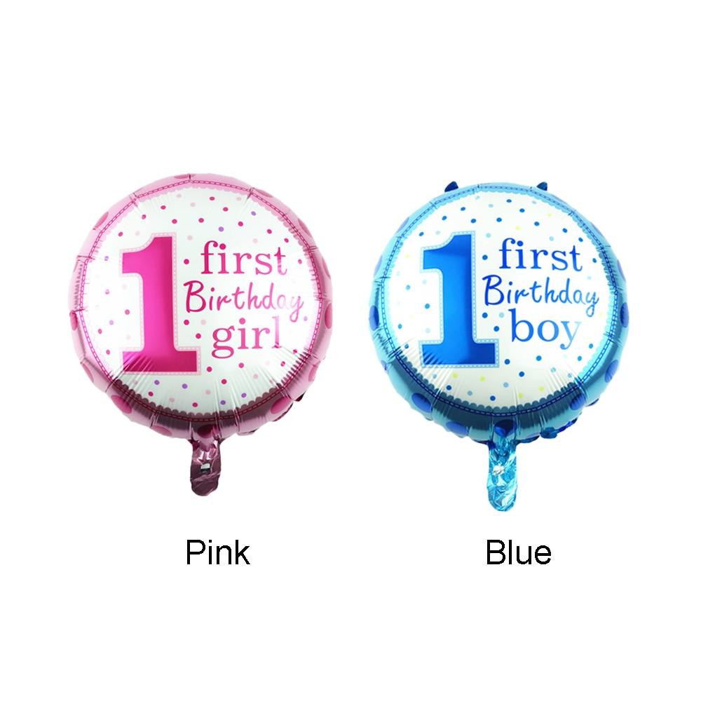 18 \'\'Runde Aluminium Ballon Kinderspielzeug Partei Baby Junge ...