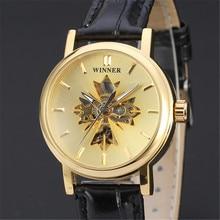 PEMENANG Mode Kasual Perhiasan Otomatis Mekanikal Sport Klasik Mewah Wrist  Watches Women Lady Bisnis Skeleton Jam 0bbd777663