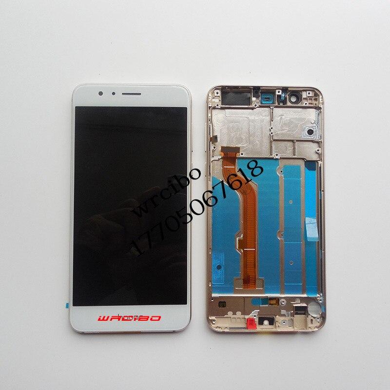 Wrcibo pour Huawei Honneur 8 D'origine Écran lcd Écran Tactile Digitizer Assemblée Avec Cadre Noir Blanc Or Bleu
