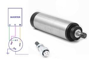 Image 4 - 2.2KW Raffreddato Ad Acqua Motore Mandrino CNC Router + 110V/220V Inverter + 80 millimetri Morsetto + Acqua pompa/tubo + 13pcs ER20 Collet Per Incisore