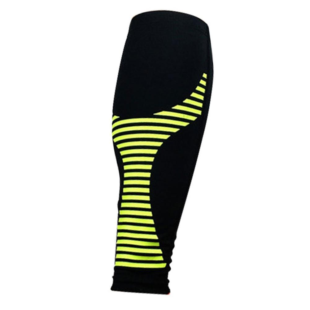 1 PC Adult Knee Pads High Elastic Leg Sleeves Basketball Football Running Knee Protector Calf Support Breathable Leg Brace