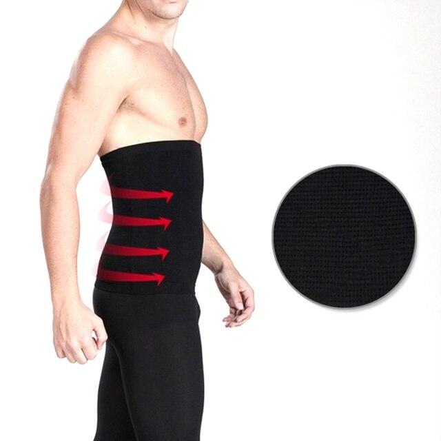 Men's Back Support Brace Belt Lumbar Lower Waist Double Adjust Back Pain Relief Waist Support New Sport Accessories 5